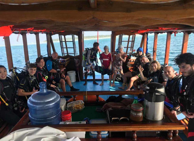 Shamar Guesthouse Tauchausflug Boot
