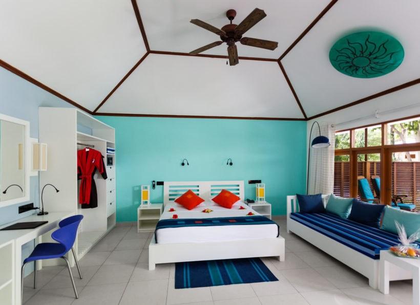 Meeru Island Resort Gartenzimmer