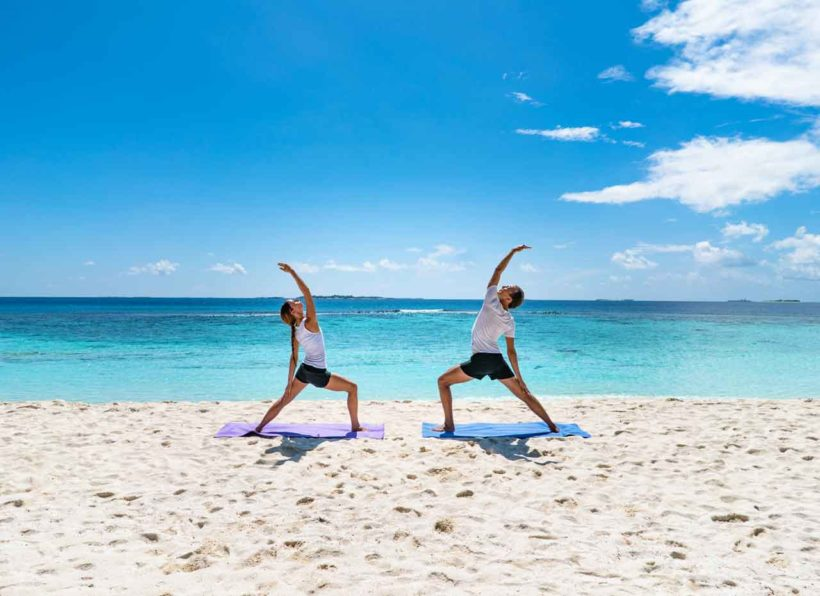 Reethi Faru Resort Yoga