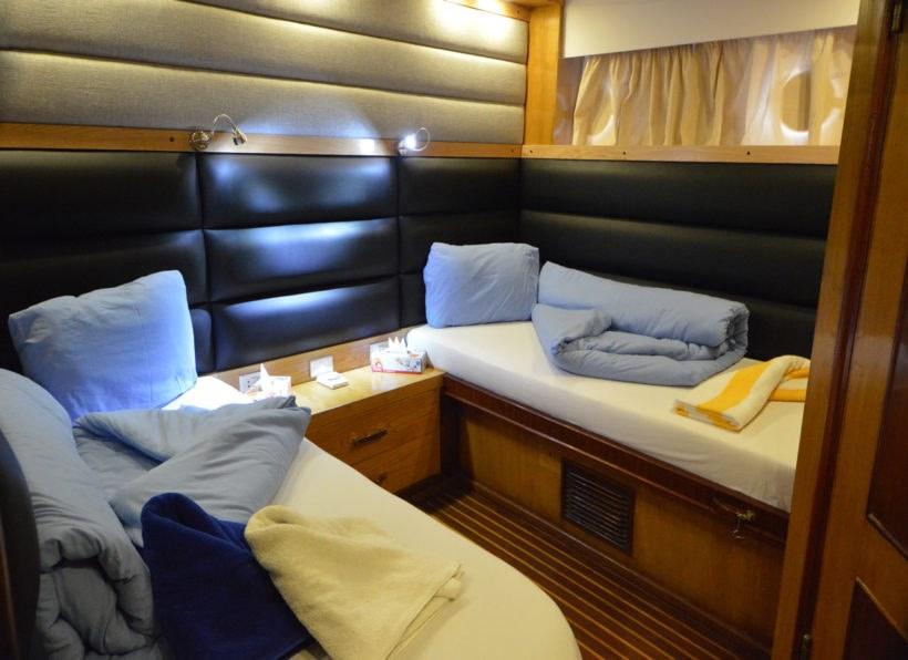 MY Blue Pearl Zweibettzimmer