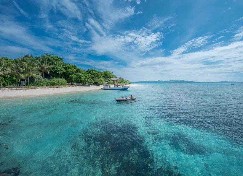 Gangga Island Tauchboot