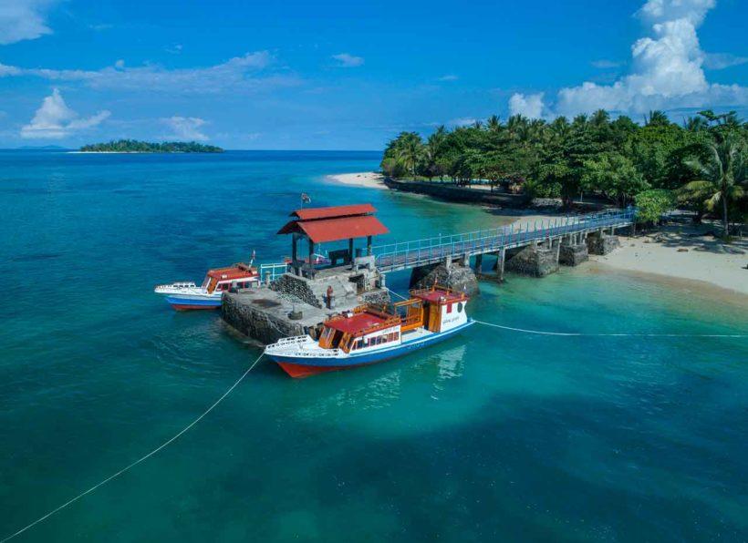 Steg Gangga Island