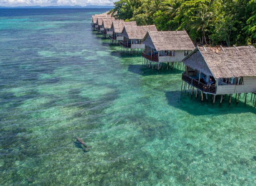 Papua Paradise Eco Resort Bungalows
