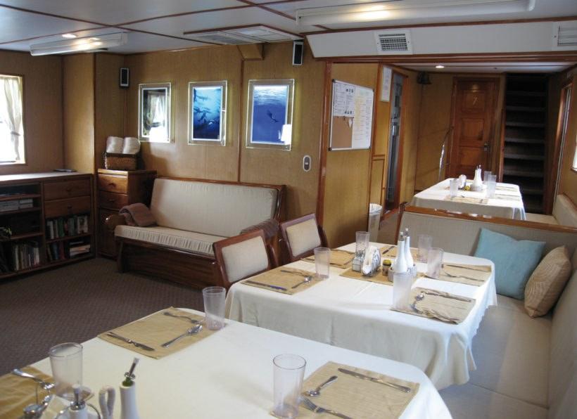 Undersea Hunter Sea Hunter Speiseraum