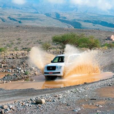Mit dem SUV durchs Hinterland des Omans
