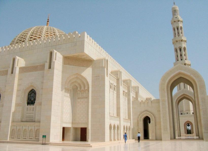 Grosse Moschee Muscat