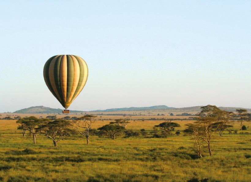 Naturwunder Tansanias_Ballonfahrt Serengeti