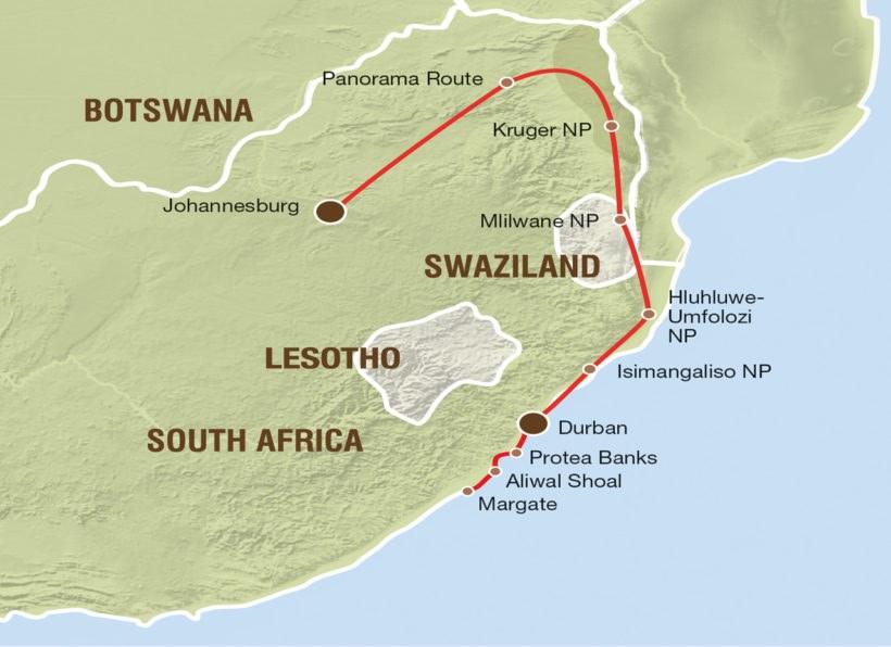 Krueger NP Swaziland und Haitauchen