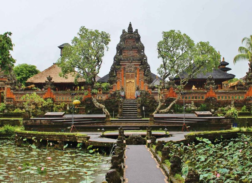 Ubud Saraswati Tempel