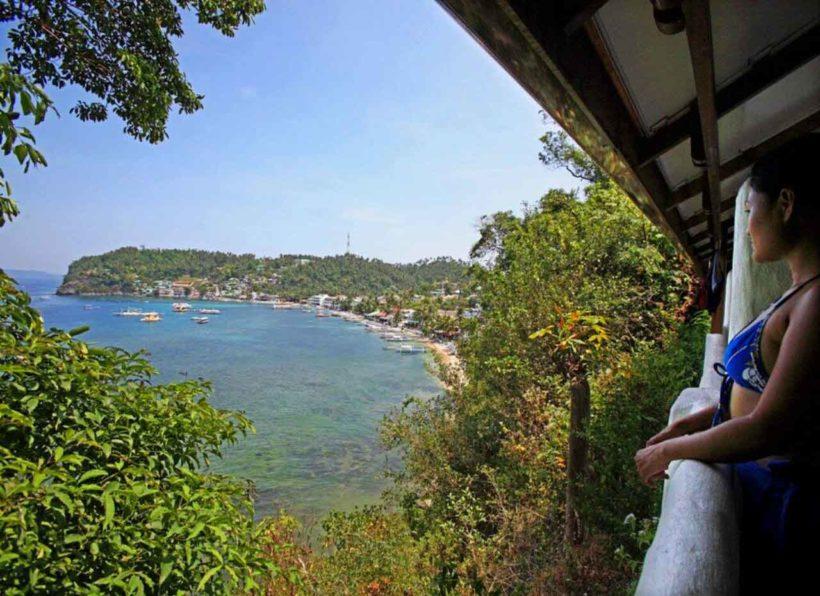 El Galleon Dive Resort Ausblick