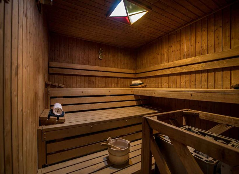 Galo Resort Galosol Healthclub Sauna