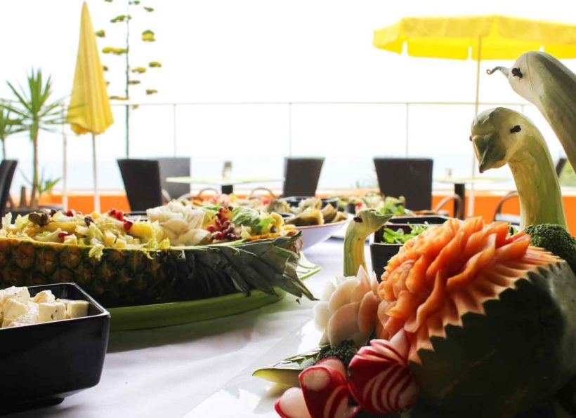 Hotel Alpino Atlantico Buffet