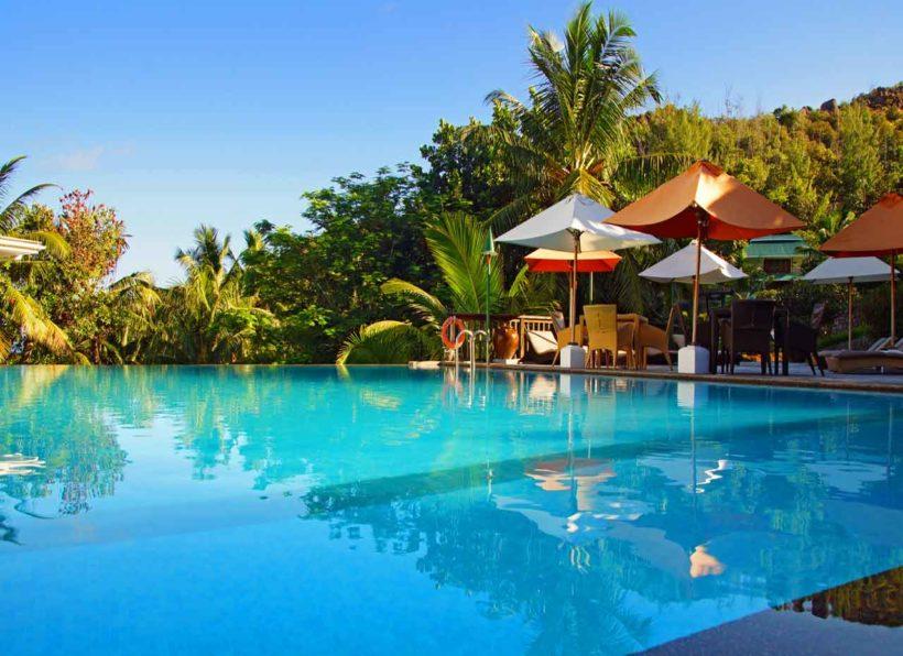 Hotel L'Archipel Pool