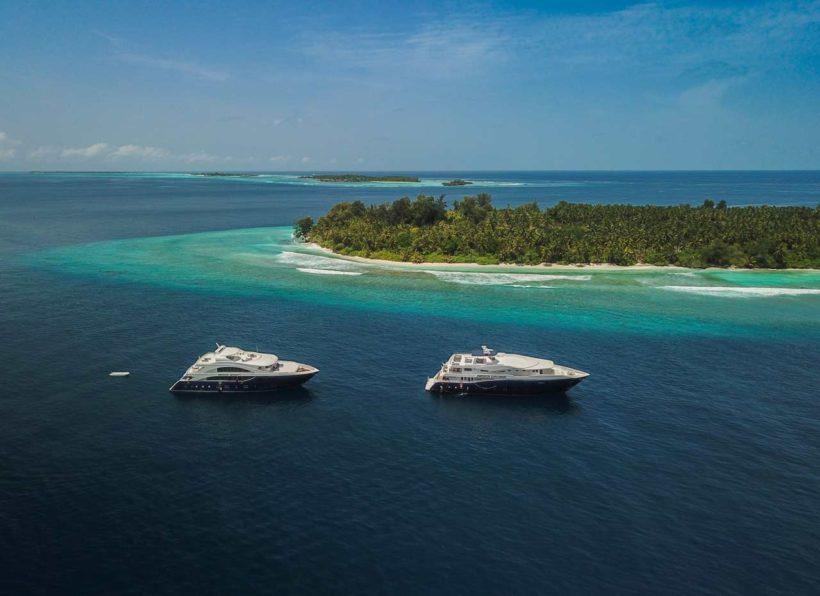 MV Emperor Explorer Drone Serenity und Explorer