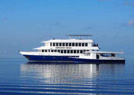 MV Emperor Virgo Seitenansicht Schiff