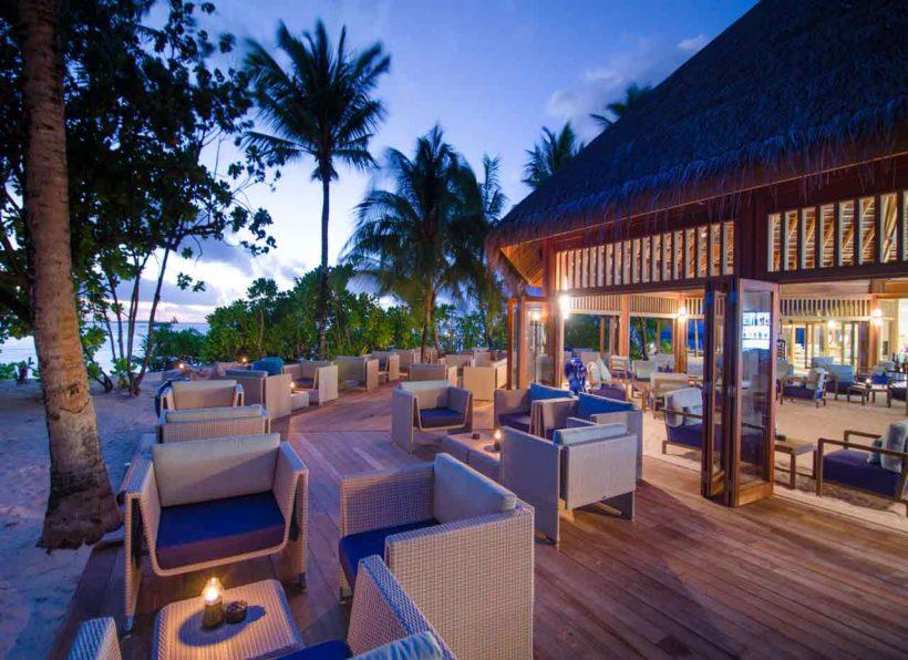 Mirihi Island Resort Anba Bar Terrasse 2