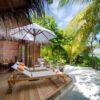 Mirihi Island Resort Beach Villa Terrasse 2