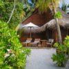 Mirihi Island Resort Beach Villa außen