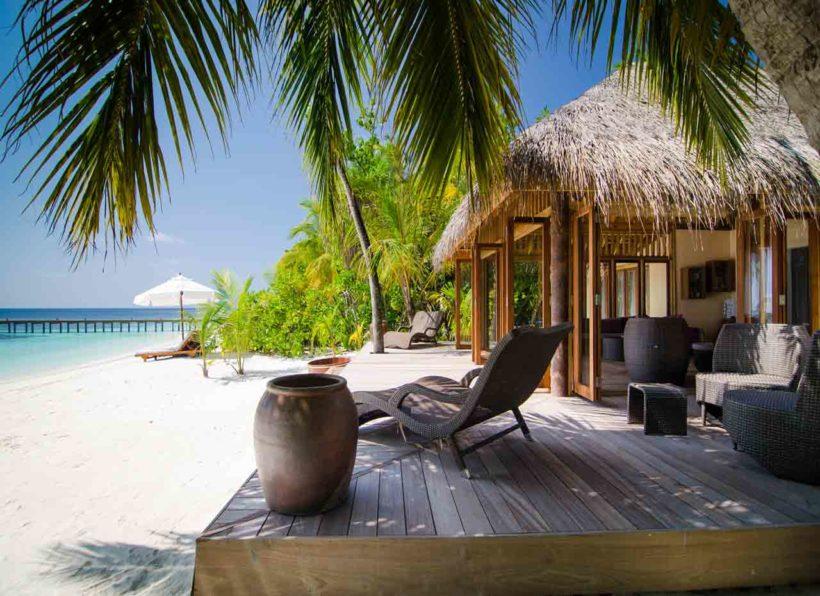 Mirihi Island Resort Duniye Spa außen