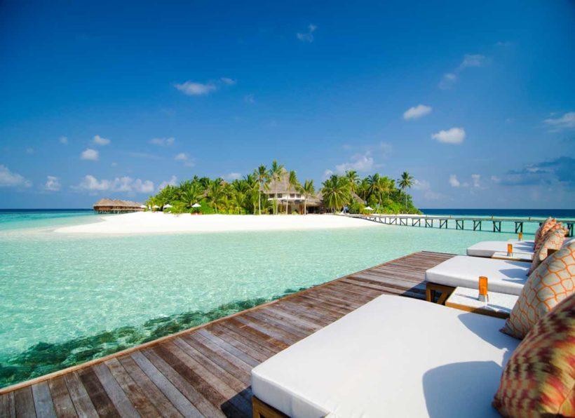 Mirihi Island Resort Muraka Restaurant Deck