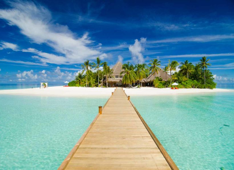 Mirihi Island Resort Steg