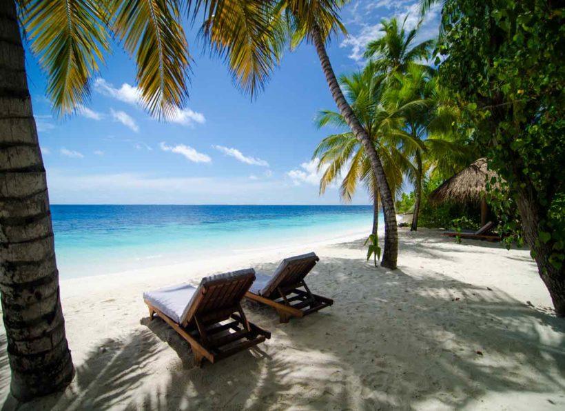 Mirihi Island Resort Strand