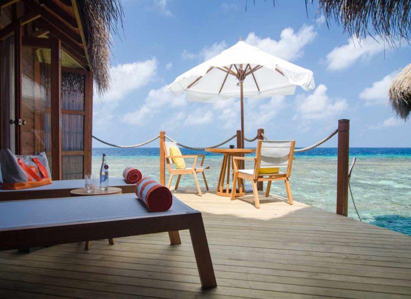 Mirihi Island Resort Water Villa Deck 2