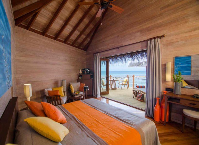 Mirihi Island Resort Water Villa innen