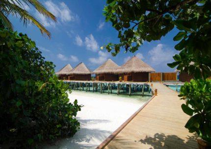 Mirihi Island Resort Water Villas Steg