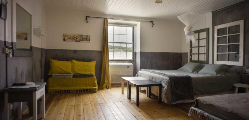Joes Guesthouse Doppelzimmer mit Einzelbett